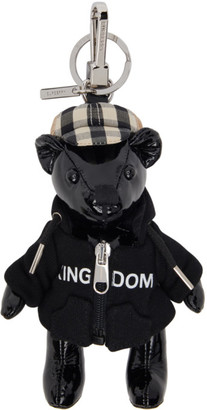 Burberry Black Hooded Top Thomas Keychain