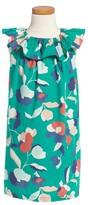 Tea Collection Toddler Girl's Evie Ruffle Neck Dress