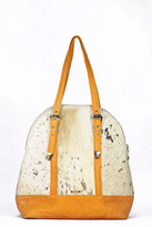 Arisch Yellow Leather Maria Bag