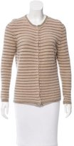 Isabel Marant Metallic Striped Cardigan