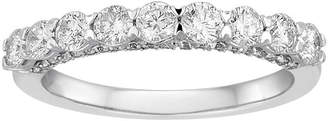 FINE JEWELRY LIMITED QUANTITIES 1 CT. T.W. Round 14K White Gold Band Ring