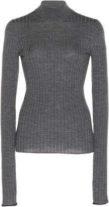 Acne Studios Kulia Ribbed Merino Wool Turtleneck Sweater