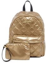 Steve Madden Nyla Triple Stitch Sateen Backpack