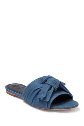 Tory Burch Annabelle Bow Slide Sandal