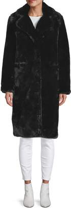 Apparis Long Faux Fur Coat