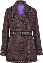 Missoni Belted bouclé coat