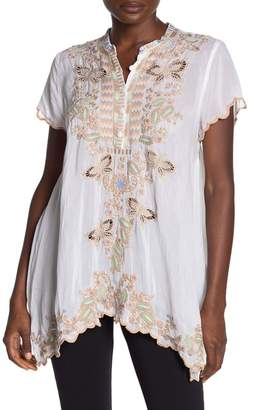 Johnny Was Monark Embroidered Tunic