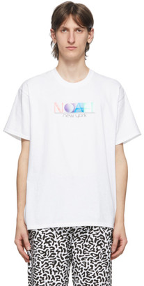 Noah NYC White Circa New York T-Shirt