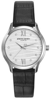 Pierre Cardin Womens Analogue Classic Quartz Watch with Leather Strap PC108162F08