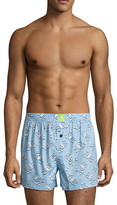 Psycho Bunny Cotton Printed Boxers