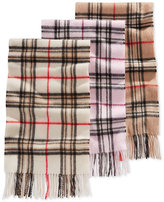 Charter Club Signature Plaid Cashmere Scarf, Only at Macy's