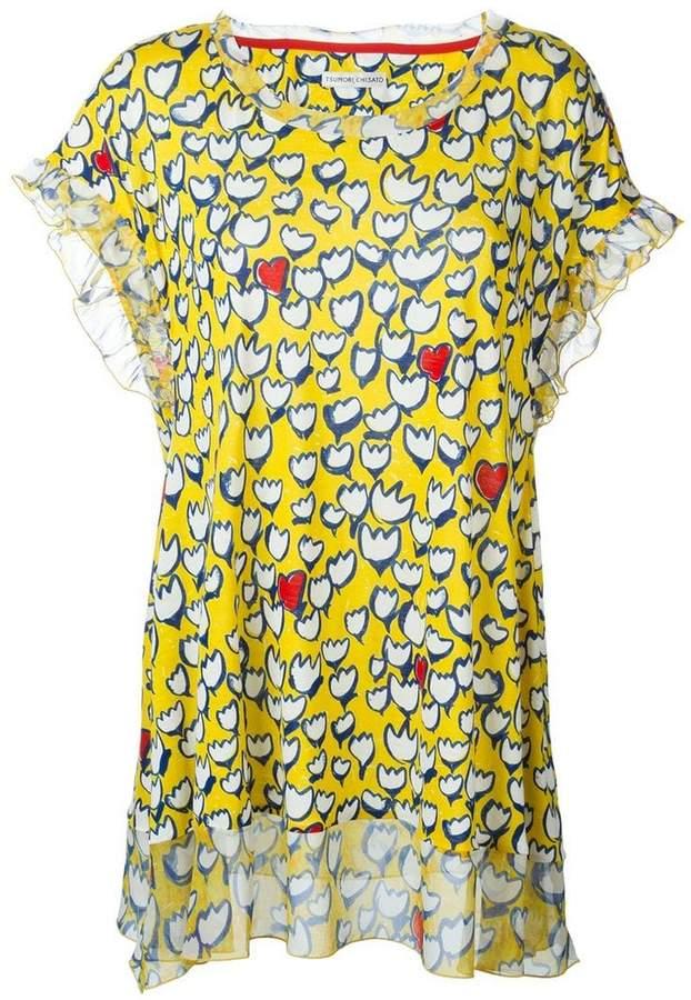 Tsumori Chisato floral print blouse