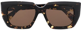 Bottega Veneta BV1030S square frame sunglasses