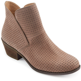 Me Too Rosewood Zinnia Nubuck Leather Bootie