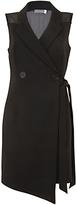 Mint Velvet Blazer Mini Dress, Black