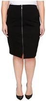 B Collection by Bobeau Curvy - Plus Size Brigid Ponte Skirt Women's Skirt