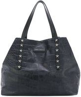 Jimmy Choo textured tote bag - women - Leather - One Size