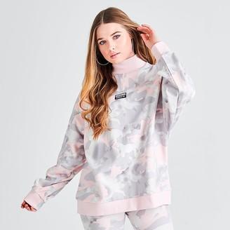 adidas Women's Allover Print Sweatshirt