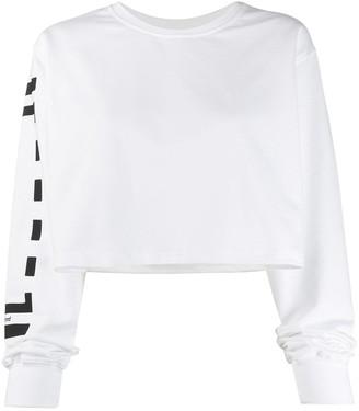 Wolford Logo Cropped Sweatshirt