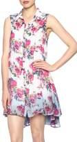 Aratta Floral Shirt Dress