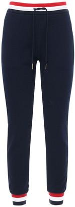 Thom Browne Cotton Sweatpants W/ Stripe Detail