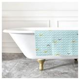 """DENY Designs Heather Dutton Take Flight Bath Rug Blue (2""""x3"""")"""
