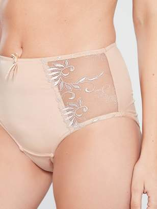 Pour Moi? Pour Moi Imogen Rose Embroidered Deep Brief