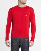 MAISON KITSUNÉ Red Fox New Wool Sweater