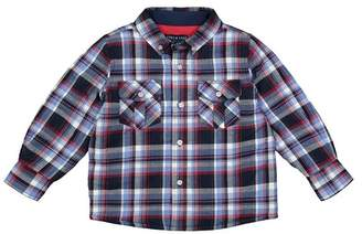 Andy & Evan Blue & Red Plaid Quilted Button-Down Shirt (Baby Boys)