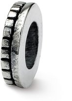 Reflections Sterling Silver Notched Spacer Bead (4mm Diameter Hole)