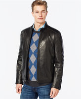 Andrew Marc Moto-Style Leather Jacket