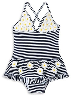 Little Me Girls' Daisy Swimsuit - Baby