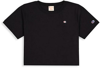 Champion Cropped Cotton Tee
