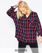 NATIVE YOUTH Blanket Check Shirt
