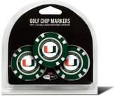 Kohl's Team Golf Miami Hurricanes 3-pack Poker Chip Ball Markers