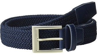 adidas Braided Stretch Belt (Navy) Men's Belts