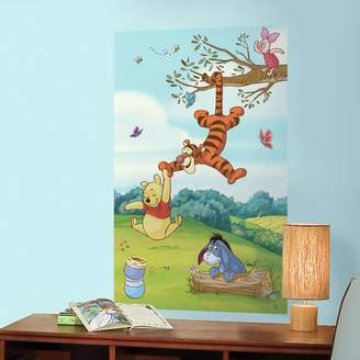Mural Roommates Disney Winnie the Pooh & Friends Peel & Stick Wall Decal by RoomMates