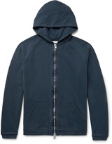 Nonnative - Coach Overdyed Loopback Cotton-jersey Zip-up Hoodie