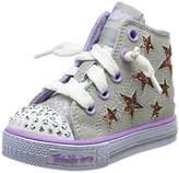 Skechers Girls' Shuffles-Lil Rockin Stars Trainers,23 EU