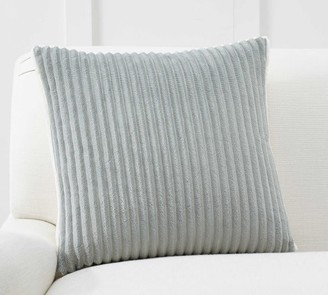 Pottery Barn Ridgeline Sherpa Back Pillow Cover