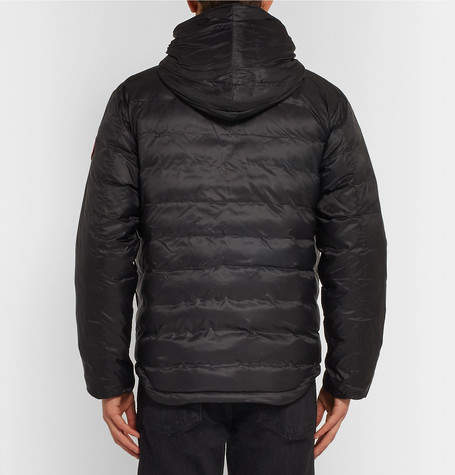 Canada Goose Lodge Packable Quilted Ripstop Shell Hooded Down Jacket