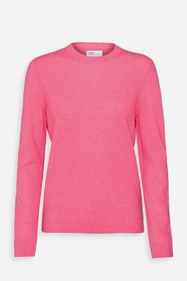 Colorful Standard - Womens Classic Merino Crew Jumper In Bubblegum Pink - M