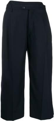 Maison Margiela wide-leg cropped trousers