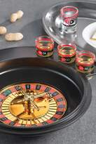 Jay Import Black Drinking Roulette Game 8-Piece Set