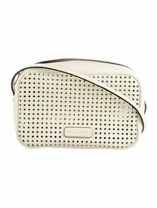 Marc by Marc Jacobs Lasercut Leather Crossbody Bag Silver