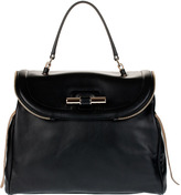 Jimmy Choo Jane calf leather handbag
