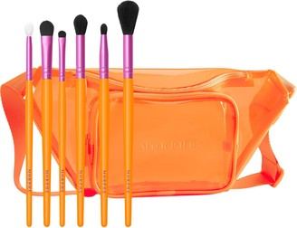 Morphe VIP Sweep by Saweetie 6-Piece Brush Collection + Belt Bag