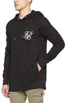 SikSilk Men's Space Dye Overhead Hoodie