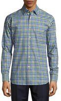 Robert Talbott Anders Casual Cotton Spread-Collar Sportshirt