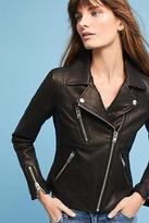 Anthropologie Doma Leather Moto Jacket